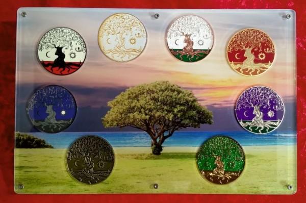 Präsenter Lebensbaum Coin klein