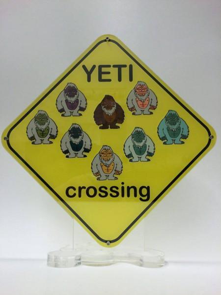 Präsenter für Yeti-Coins