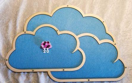 PinWand Wolke