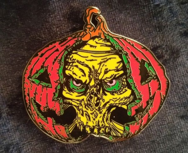 dead mans pumpSkin Geocoin Version Vampire
