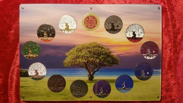Präsenter Lebensbaum Coin für 13 Coins