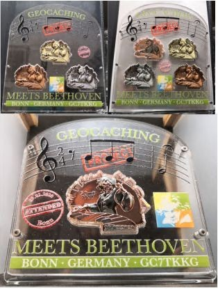"Präsenter Eventcoins ""Geocaching meets Beethoven"""