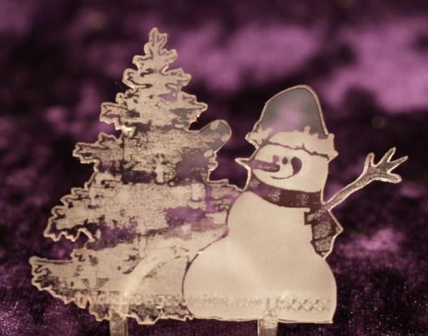 Token X-Mas Willie der Schneemann