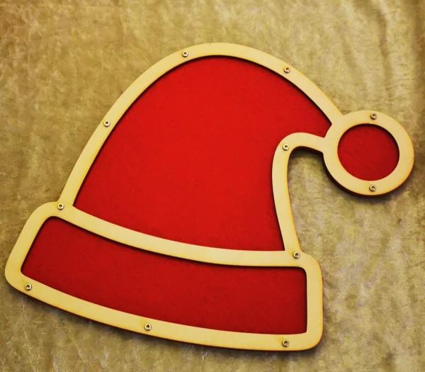 PinWand Weihnachtsmütze