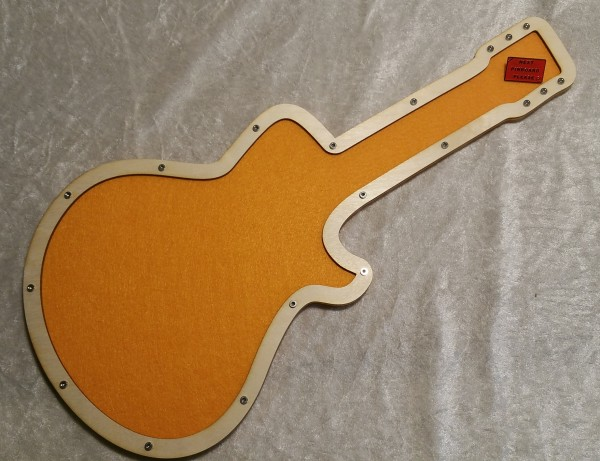 PinWand Gitarre